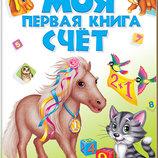 Моя первая книга Счёт, на рус.яз, укр.яз