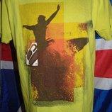 Стильная фирменная футболка бренд Jack&Jones.л-м .