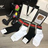 Носки набор Socks Gucci Pack 4 Bee Black/White/White/Black