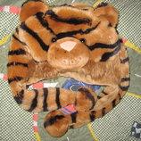 Детская зимняя шапка Тигр на 3 - 5 лет