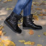Ботинки Глория, натур. кожа, много цветов