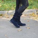 Ботинки Оливия, натур. кожа, весна-осень