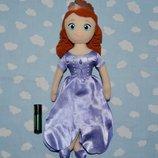 Принцесса мягкая игрушка мягко набивная София Прекрасная Sofia the First дисней Disney