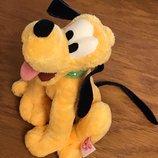 17 см, мягкая игрушка Disney собачка Pluto, сидит устойчиво