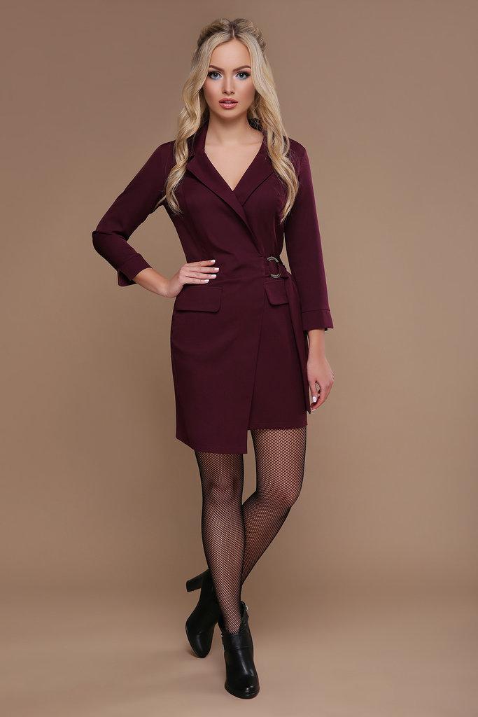 bb3d5b72d49 Платье Полина Д р бордовое платье для офиса  520 грн - вечерние платья в  Житомире