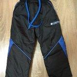 Теплые зимние штаны на флисе 92-98 размер