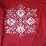 Женский новогодний свитер