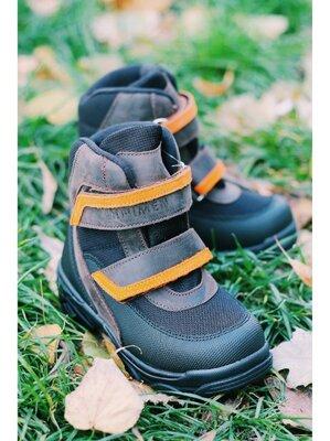 зимние ортопедические ботинки для мальчика фирмы Минимен.на шипах.
