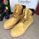 Мужские ботинки кожа 6-Inch Premium Waterproof Yellow Boot желтые