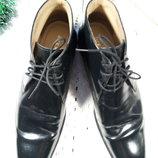 Кожаные классические деми ботинки