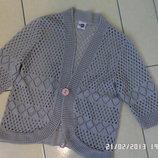 Knitt L - XL ажурний кардиган