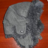 шапочка шапка для мальчика ушанка примерно до 5-6 лет
