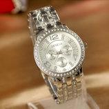 Модные стильные женские часы Geneva Paidu Swarowski