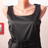Черное платье футляр миди 34 размер хс h&m маленькое черное платье