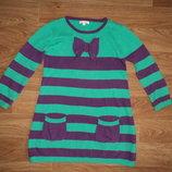 Платье теплое Bluezoo 6-8 лет