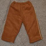 зимние тёплые штаны мальчику 18 мес рост 80-86