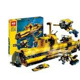 Конструктор Lepin 24012 Подводная лодка, аналог Lego 4888 Designer