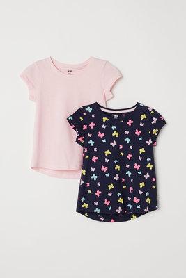 Набор футболочек H&M р. 1,5-2 , 2-4, 4-6, 6-8 лет.
