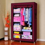 Мобильный тканевой шкаф для одежды HCX Storage Wardrobe 88