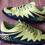 Кроссовки футзалки фирменные Nike HyperVenom р.36-23 см.