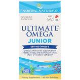 Nordic Naturals, Ultimate Omega, Junior, 680 мг, 90 шт и 283 мг 180 шт