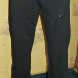 Летние спортивные штаны Nike на манжете оливка.