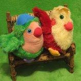 Птичка.пташка.птах.птица.мягкая игрушка.мягка іграшка.мягкие игрушки.Fisher-Price
