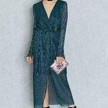 Платье хамелеон от vila с металлизированными нитями