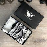 Мужские трусы 3 шт Underwear Emporio Armani Pack 3 Silver Black/Grey/White