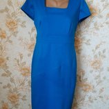 Красивое платье. цвет-морской волны. на бирке- 12 р-р 46