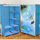 Шкаф - гардероб - кофр тканевый складной Лодочка