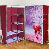Шкаф - гардероб тканевый складной Сакура