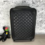Чемодан Chanel Rolling Luggage Quilted Rhombus 55 Black