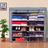 Тканевый шкаф для хранения вещей и обуви