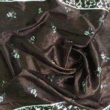 Стильный дорогой шелковый платок TSsilk/набивной шелк/Индия