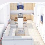 Чертежи, перепланировка, расстановка мебели, дизайн интерьера
