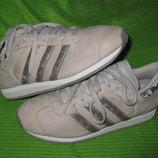 Кроссовки Adidas,р.40-41 стелька 27см Кожа