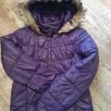 Тёплая Деми куртка на девочку 13-14 лет, рост 158-164 см.