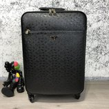 Чемодан Prada Rolling Luggage Ostrich 55 Black
