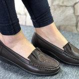 Супер Цена Деловые Туфли Мокасины Вышивка