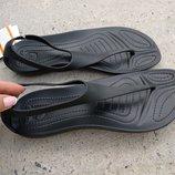 босоножки crocs Sexi Flip размер 36-40 черные