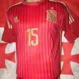 Спортивная футбольная футболка зб Испании .Adidas.Ramos. .м-л .