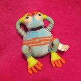 Лягушка.жаба.лягушонок.жабка.мягкая игрушка.мягка іграшка.мягкие игрушки.Fisher-Price