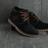 Ботинки Yuves Clarks из натуральной замши, код gavk-51W-M2