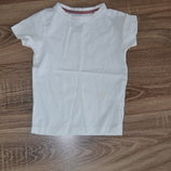 Белая футболочка Next р.3 года