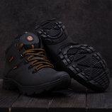 Ботинки Yavgor Ecco из натуральной кожи на меху, код gavk-552W-M1