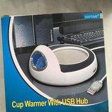 Новый хаб и коврик для мыши от HP-Turbo.4 юсб входа . Коробка,все как на фото . Привезен с Германии
