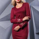 Платье 3 цвета 44,46,48,50 размеры