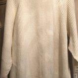 Тёплый вязаный свитер с молнией на спине H&M