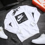 Свитшоты батники мужские Nike Black and White